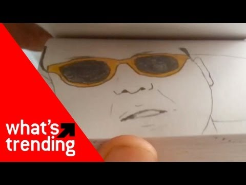 Gangnam Style (강남스타일) Paper Flipbook Plus Top 5 YouTube Videos of 1/30/13