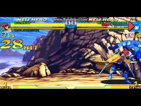 Marvel vs Capcom Gambit inf