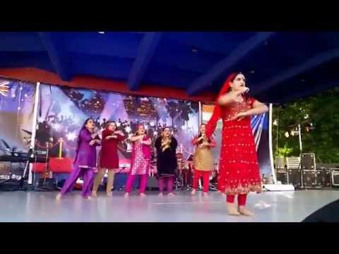 Kashmiri Pandits Performing Bumbroo On Gopio Queensland India Day Fair 2014 video