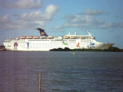 Navio Grand Navio Transatlântico Grand