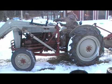 Frozen Transmission 1953 Ford Jubilee Tractor