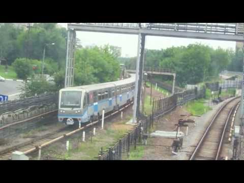 35 Minutes of the Metro in Moscow ... Метро в Москве!
