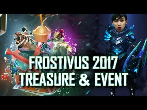 SINGSING DOTA 2 FROSTIVUS 2017 TREASURE & EVENT