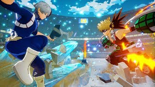 My Hero Academia One's Justice Uraraka, Iida, Todoroki HD GAMEPLAY Screenshots