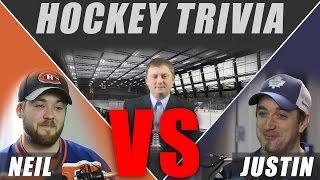 Hockey Trivia - Neil VS Justin - 01