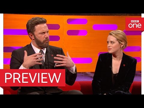 Ben Affleck's son played with Prince George & Princess Charlotte – The Graham Norton Show 2016 – BBC