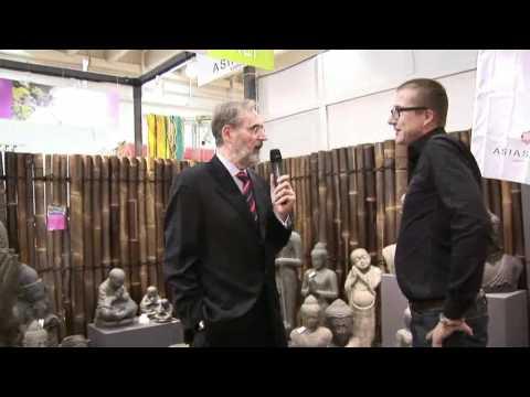 Reinhard Flötotto Trifft...Asiastyle | Buddahs, Steinkunst, Gartendekoration - IPM 2011 Essen