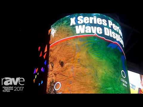 ISE 2017: Shenzhen Infiled Electronics Displays X Series Perfect Wave Display