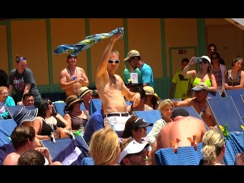 Cruise Ship Hairy Chest Competition