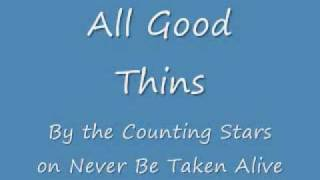 Watch Count The Stars All Good Things video