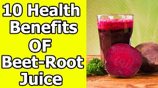 Health Benefits of Drinking Beetroot Juice Everyday