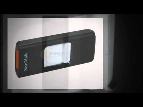 SanDisk Cruzer 4 GB USB 2.0 Flash Drive SDCZ36-004G-A11 -- one device for all of your data