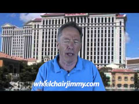 WheelchairJimmy.com Las Vegas Caesars Palace Hotel and Casino