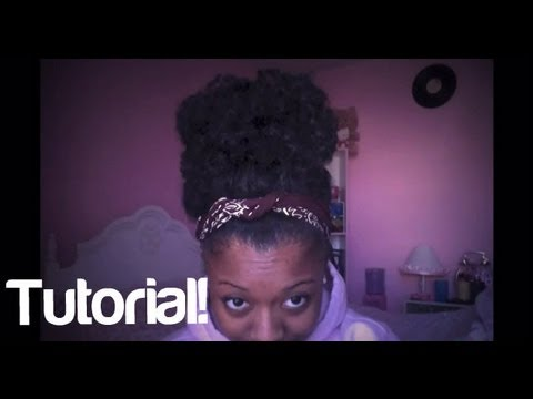 Loose, Messy Puff Tutorial (Workout &amp; Lazy day Hairstyle)