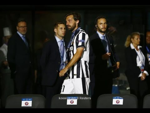 Andrea Pirlo Emotional Moment - Respect - Juventus 1-3 Barcelona 06.06.2015 HD