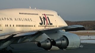 JAL 747 Memorial #009 : 747-446D [JA8090] at CTS/RJCC : Take-off