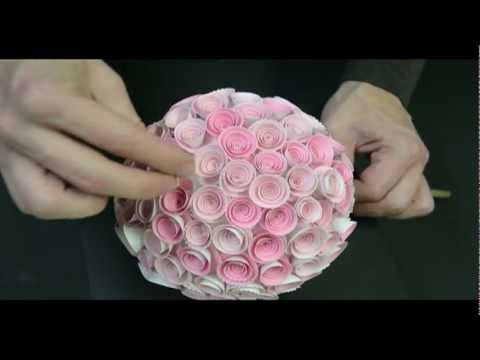 Memory Box Paper Rose Topiary Music Videos