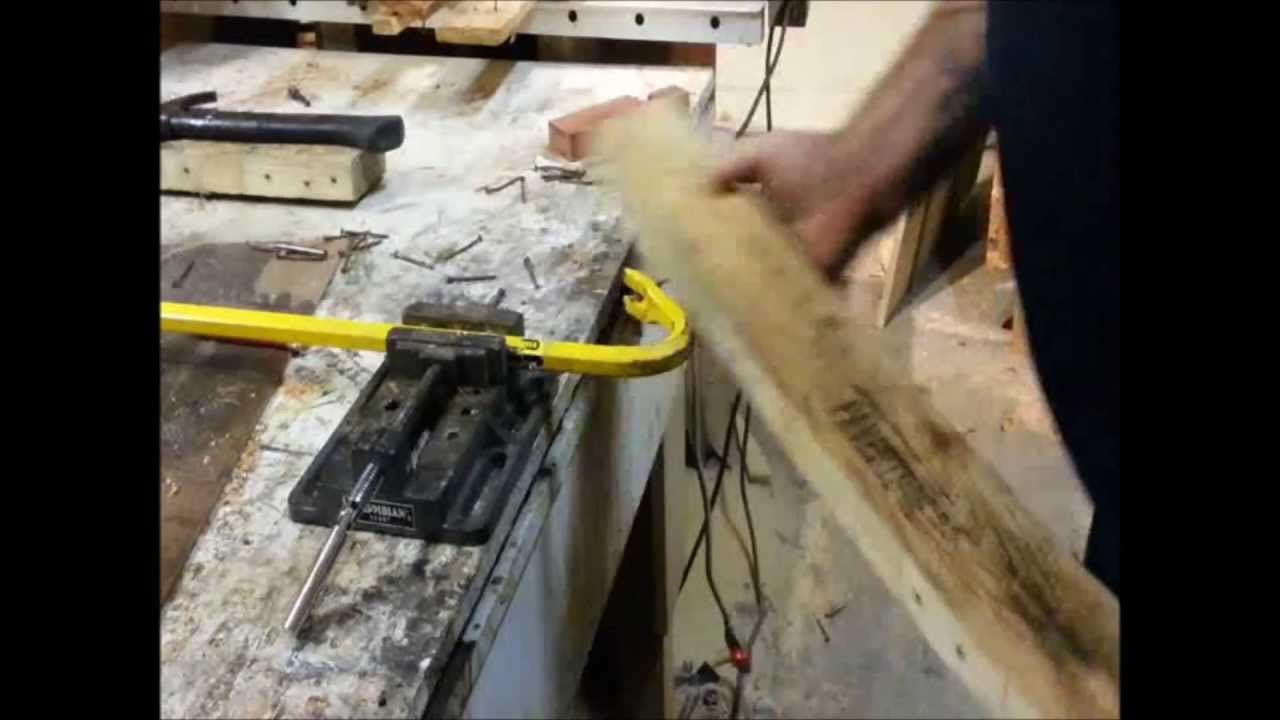 Re Claiming Pallets Made Easy Pulling Nails Youtube