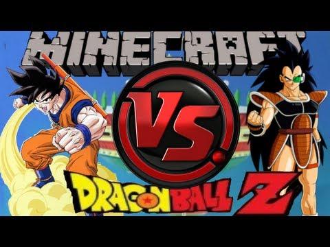 DRAGON BALL EN MINECRAFT ! -/ Muerte a Raditz /- #3 Multijugador con