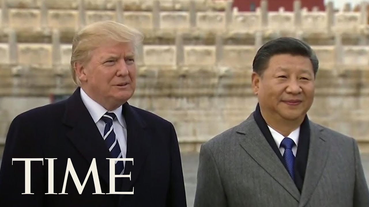 President Trump Meets The World's Most Powerful Man In Beijing, Xi Jinping   TIME