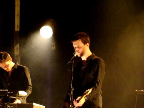 White Lies - From The Stars live Warszawa 07.02.2010 Stodoła Poland