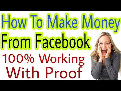 How To Earn Money From Facebook Full Tutorial Step By Step - YOUTUBE