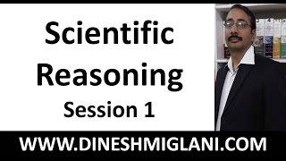 Scientific Reasoning ( Science Reason in GK) Session 1 by Dinesh Miglani Sir