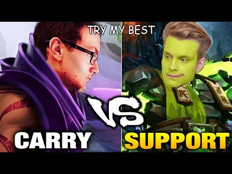 Miracle- AM Carry VS Jerax Best ES Support Dota 2