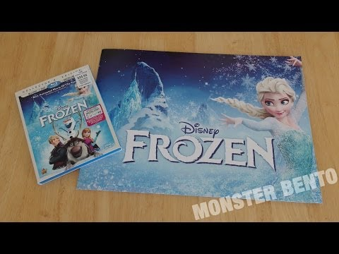 Disney Frozen Blu-Ray / DVD / Digital Copy with Lithographs Unboxing & Review