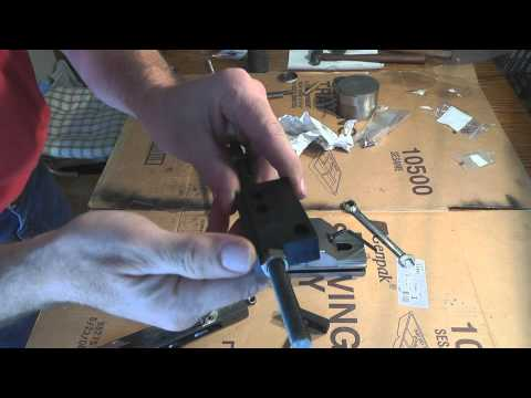 AK47 kitchen build barrel remove and install Tothtool barrel tool