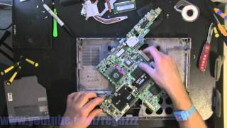 DELL D830 take apart, disassemble, how to open video disassembly