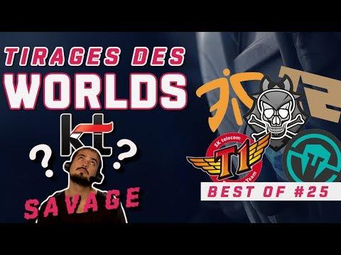 BEST OF LOL #25 - Tirages au Sort des Worlds - League of Legends