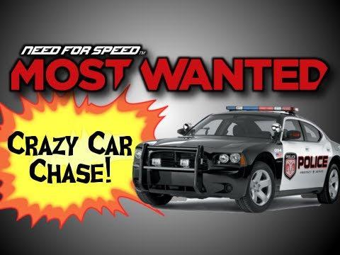 Need for Speed: Most Wanted Ep. 5 - Crazy Police Car Chase! - NFS001 (Xbox 360)