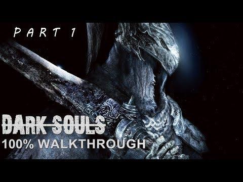 Dark Souls 100% Walkthrough Part 1 - Firelink Shrine/Undead Burg