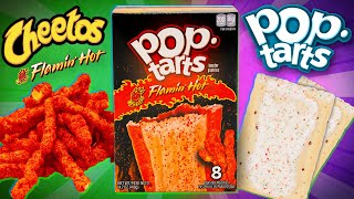 Flamin' Hot Pop-Tarts Taste Test | SNACK SMASH