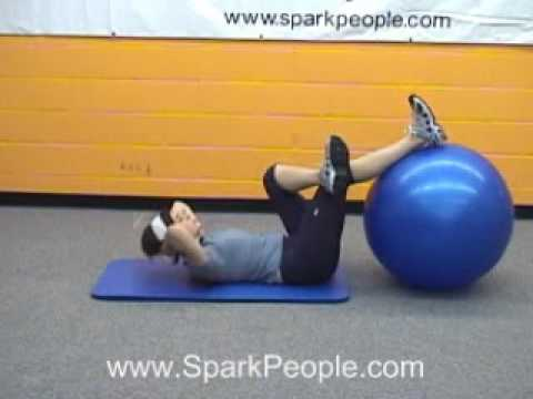 SparkPeople Stability Ball Workout