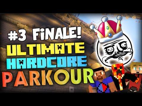 The new parkour king?? - Minecraft Ultimate Hardcore Parkour FINALE (Part 3)