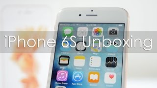 iPhone 6S (Rose Gold Color) Unboxing & Hands On Overview
