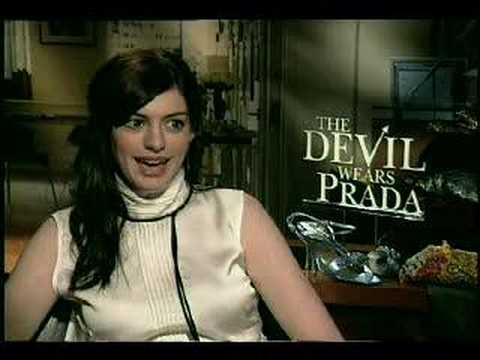 The Devil Wears Prada Anne Hathaway interview