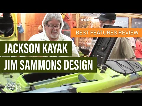 Jackson Kayak's new Fishing machine - Jim Sammons shows off the Kraken!