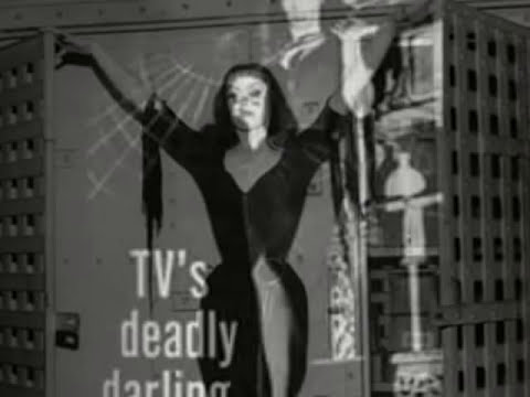 Vampira - The Glamour Ghoul