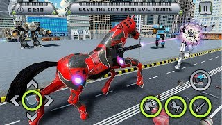 Car Robot Transformation Game - Horse Robot Games (By Game Scapes Inc) Gameplay HD