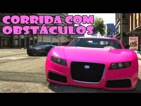GTA 5 Online: Super Corrida com Obstáculos - PSN / PS3 HD Gameplay