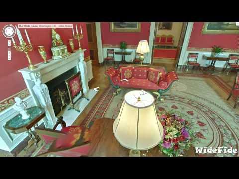 White House Tour : Inside the Residence of US President