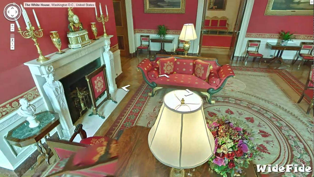 White House Tour Inside The Residence Of Us President