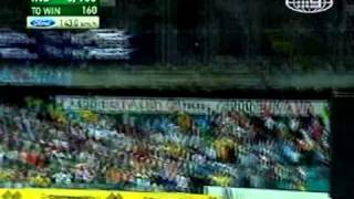 Robin Uthappa HUGE six off Brett Lee SCG 2007/08