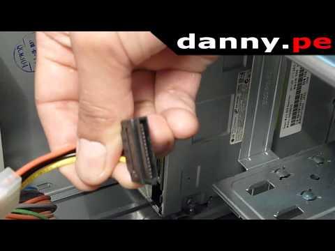Instalación de una Unidad de CD - DVD