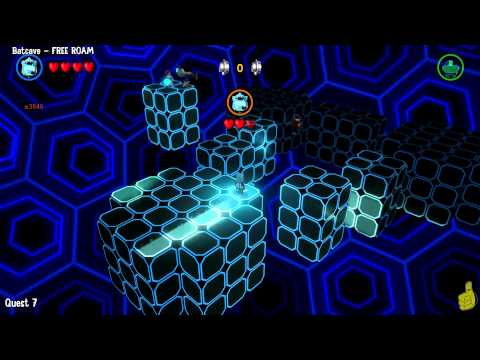 Lego Batman 3 Beyond Gotham: Batcave FREE ROAM (All Collectibles) - HTG