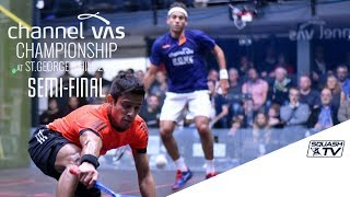 Squash: Farag v Elias - SF Roundup - Channel Vas Champs 2017