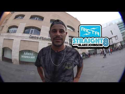 Blake Johnson Straight 8 Flatground Trick Challenge
